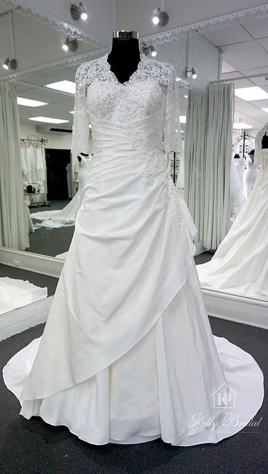 Adele A-Line Style Wedding Gown