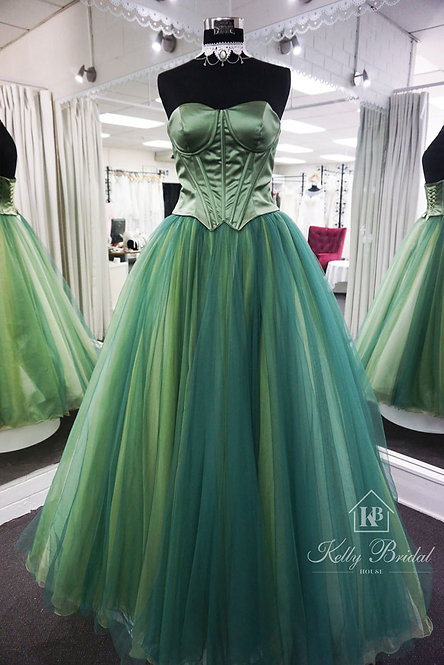 Sweetheart Neck Top Corset Princess Evening / Ball Gown