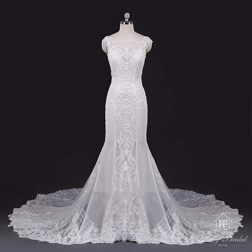 Miranda Mermaid Wedding Gown