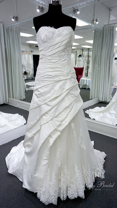 Angeline A-Line Style Wedding Gown
