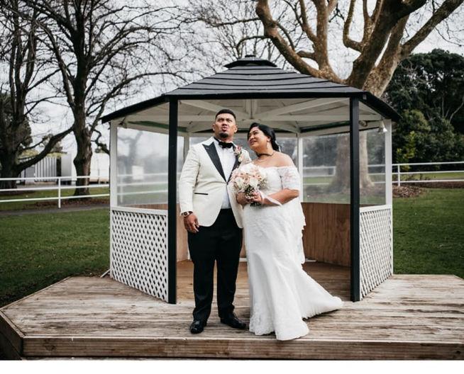 Pele Wedding Photo