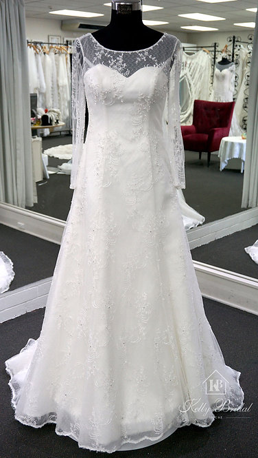Alison A-Line Style Wedding Gown