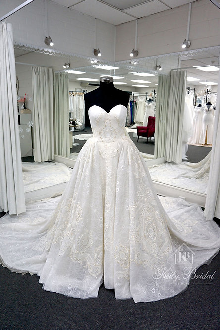 Brenda Ball Gown Wedding Dress