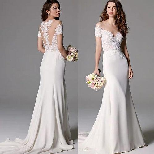 Madeline Mermaid Style Wedding Gown
