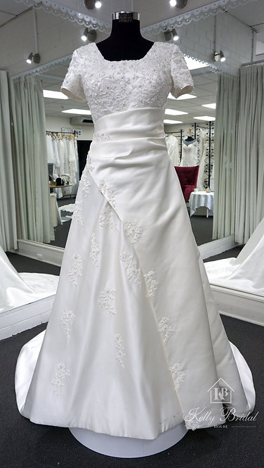April A-Line Style Wedding Gown