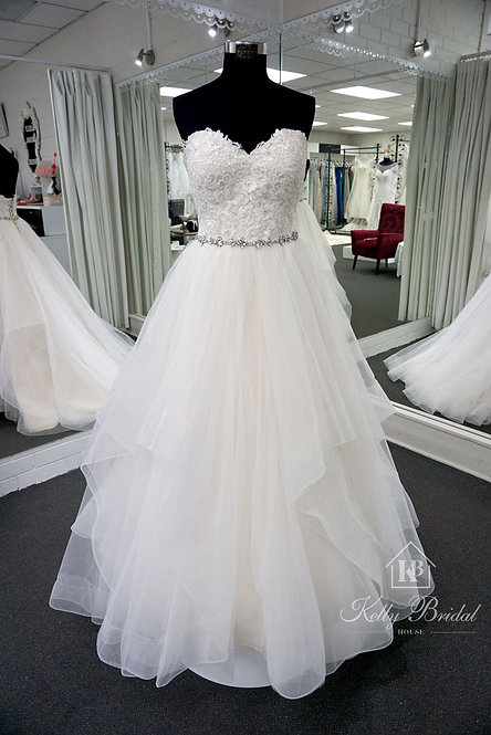 Gladys Ball Gown Wedding Dress