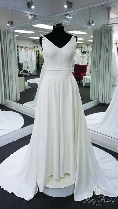 Ada A-Line Style Wedding Gown