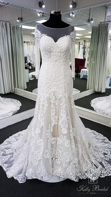 Monica Mermaid Wedding Gown