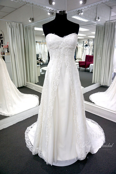 Adora A-Line Style Wedding Gown