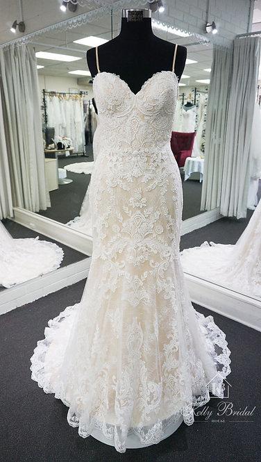 Melanie Mermaid Style Wedding Gown