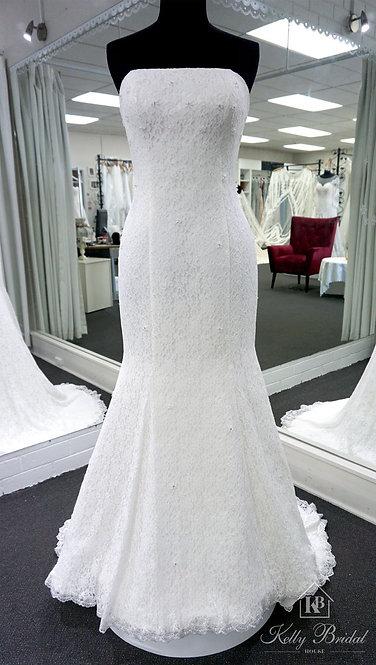 Mindy Mermaid Style Wedding Gown