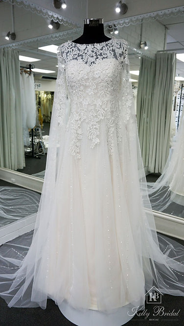 Athena A-Line Wedding Gown