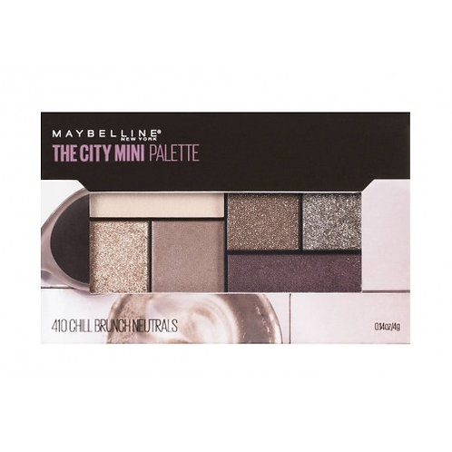 Maybelline The City Mini Palette 410 Chill Brunch Neutrals