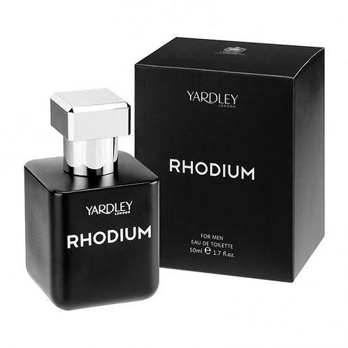 Yardley Rhodium Spray For Men Eau de Toilette 50ml