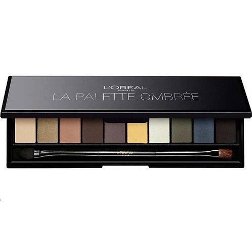 Loreal Color Riche Eyeshadow Palette La Palette Smoky