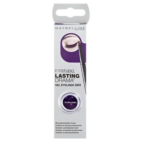 Maybelline Eye Studio Lasting Drama Gel Eyeliner 10 Ultra Violet