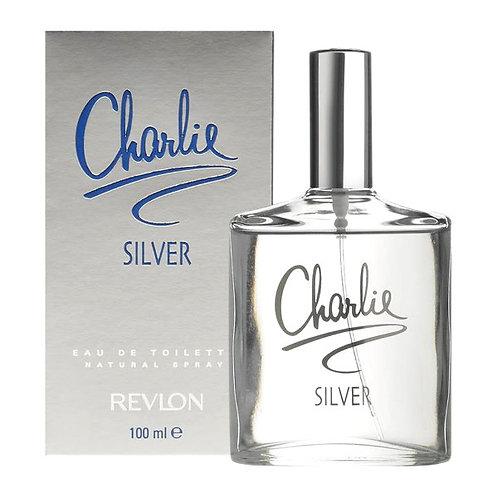 Revlon Charlie Silver 100ml EDT Spray Ladies
