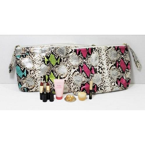 Elizabeth Arden 6 Piece Set Multi Print Bags Assorted