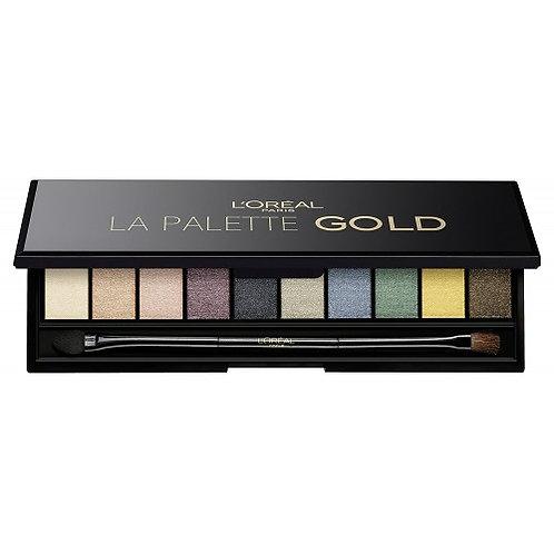 Loreal Color Riche Eyeshadow Palette La Palette Gold
