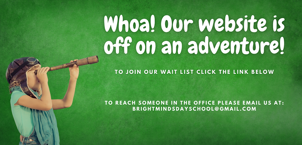 whoa! our website is off on an adventure