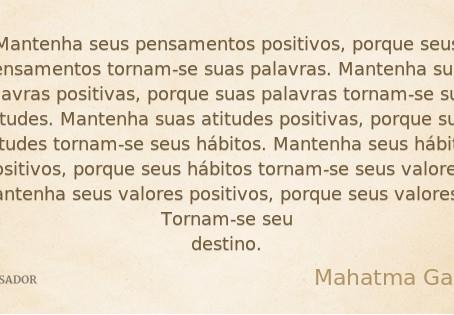 Pense positivo