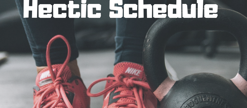 How to Fit in Exercise With a Hectic Schedule