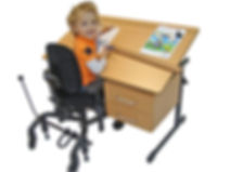 specialist school desk for disabled