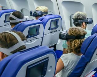KLM, scenario's voor VR recruitment films (in post-productie,bijna af:)