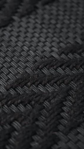 Tissu fait-main PERRINE en coton ciré et lin