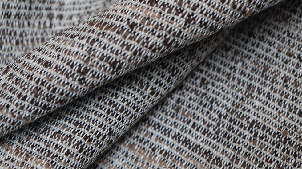 JUNGLE, tissu PERRINE fait main en soie et lin
