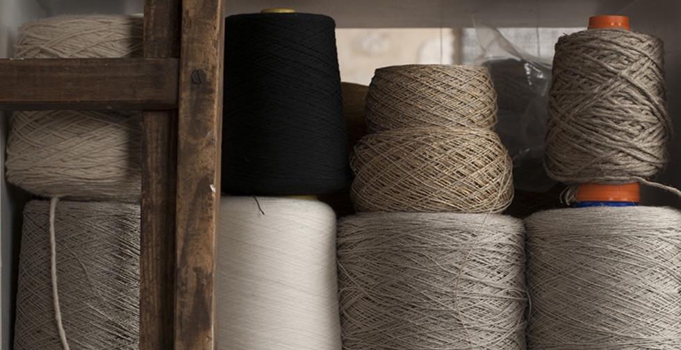 Bobines de fibres naturelles PERRINE