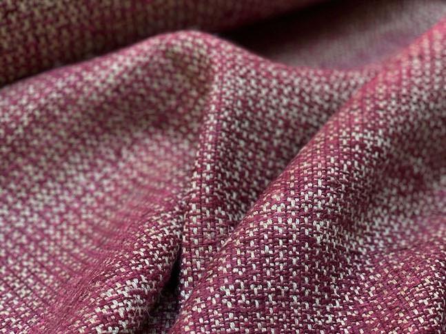 RAGAN, tissu PERRINE fait main en lin et soie
