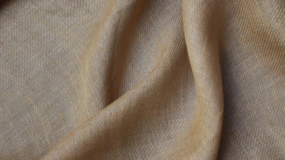 SALWA, tissu PERRINE fait main en lin