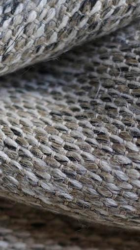 PAMIR, tissu PERRINE fait main en lin