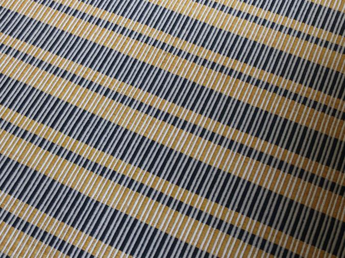 COLOMBO, Tapis PERRINE tissé-main en laine et coton