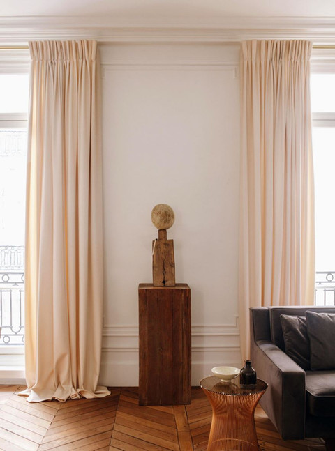 Architecte d'intérieur : Nathan Litera, tissu fait-main PERRINE