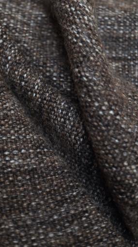 THABOR, tissu PERRINE fait main en lin et mohair