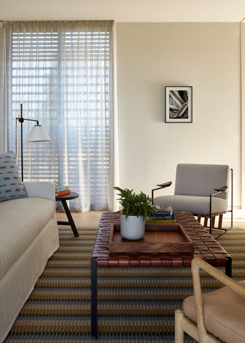 Architecte d'intérieur : Erica Millar Tapis fait-main GOPAL  © Joshua McHugh