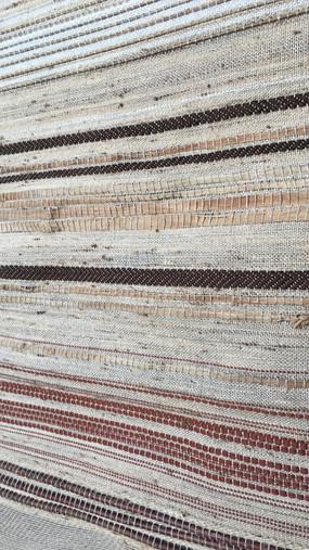 Panneau décoratif PERRINE tissé en fibres végétales