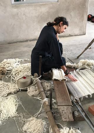 Perrine Rousseau, designer textile et fondatrice du Studio PERRINE