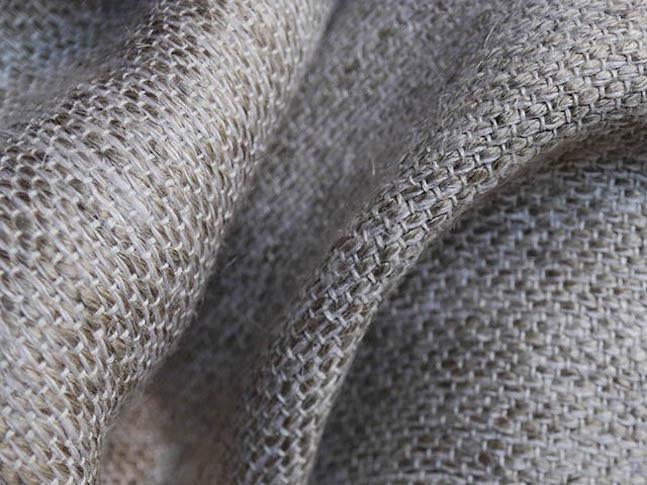 MANALA, tissu PERRINE fait main en lin