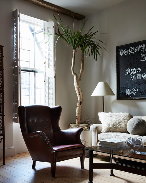 Shawn Henderson Appartement West Village, coussins par PERRINE