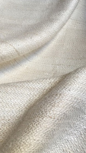 HINDE, tissu PERRINE fait main en soie et coton