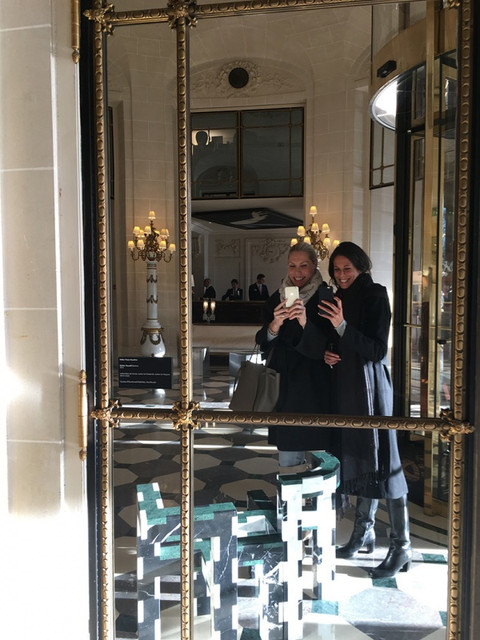 Souvenir d'un déjeuner avec Analisse Taft, Alt For Living Restaurant le Meurice
