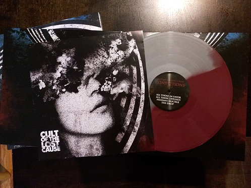 "CONTRITIONS - Limited Edition Red/Gray 12"" Vinyl"