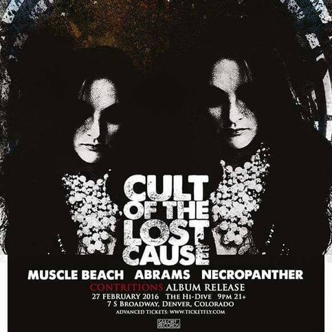 CULT OF THE LOST CAUSE - Album Release Show