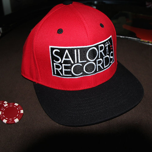 SAILOR RECORDS - Stretch Fit Hat