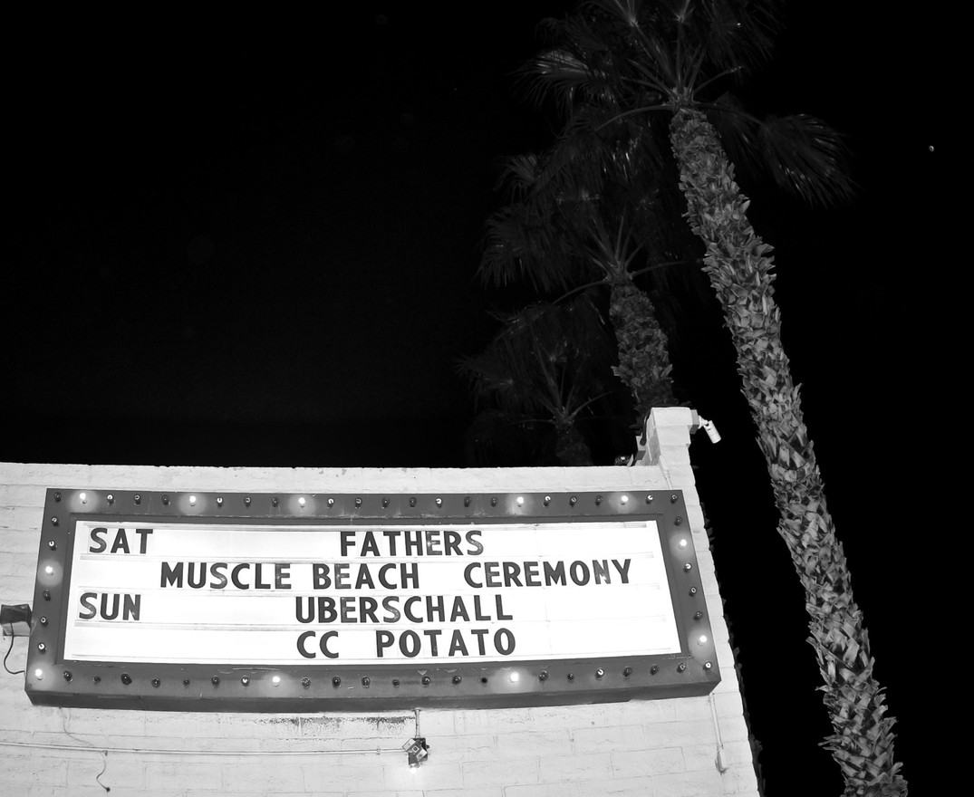 FATHERS MUSCLE BEACH - Fall Tour 2018