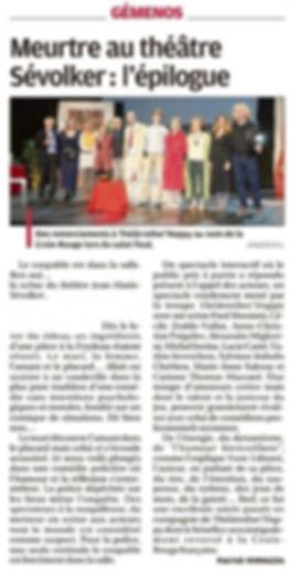 Article La Provence Le coupable est dans