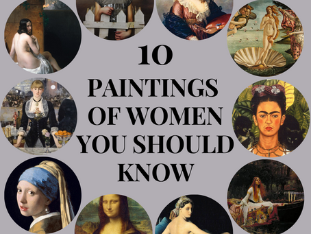 10 Paintings of Women That You Should Know About
